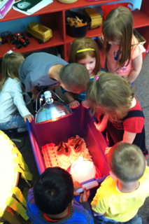 Perry Preschoolers Experience Hands-on Math & Science