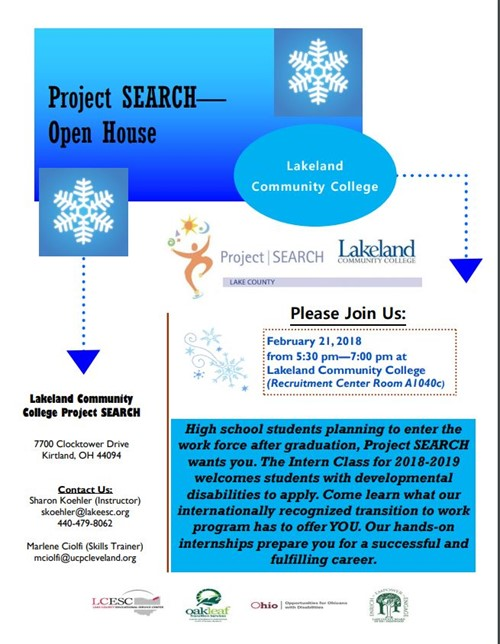 Lakeland Community College Project Search