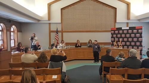 2018 Tri- County Spelling Bee Winner, Matthew Dufour