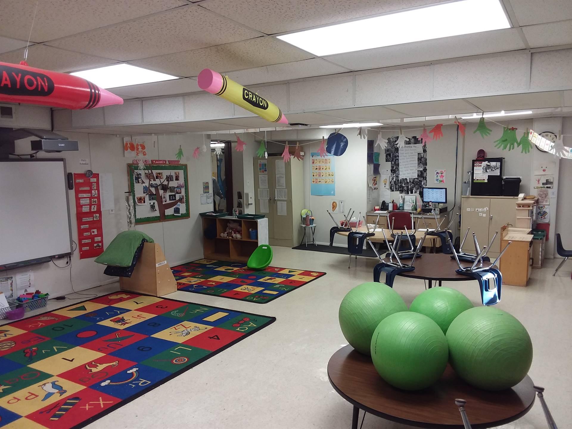 Fairport Preschool Classroom