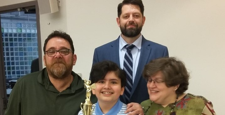 Congratulations to Parker Pacifico, winner of this year's Tri-County Spelling Bee!