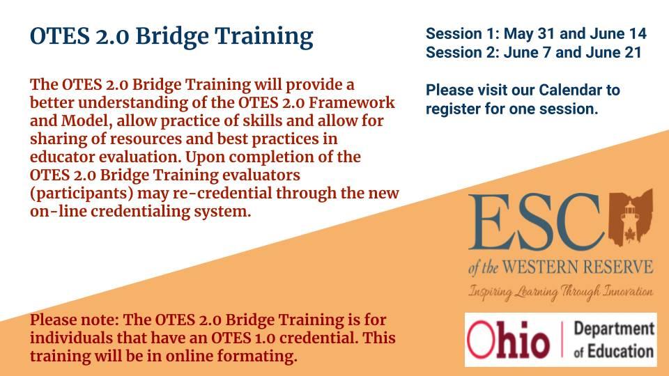 OTES 2.0 Bridge Training